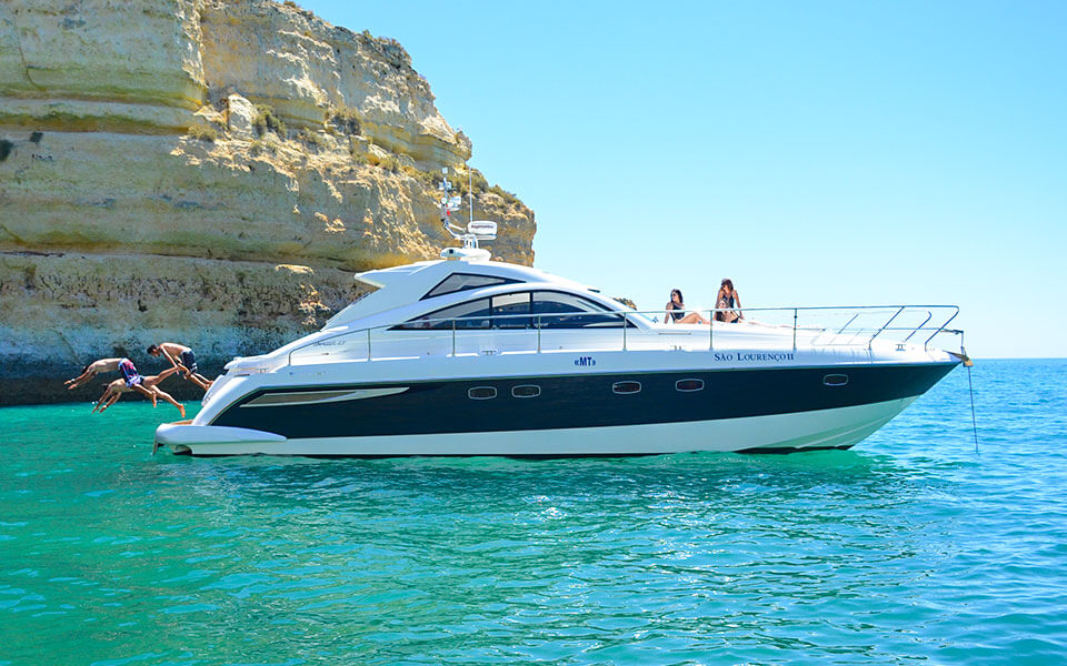 failrine luxury charter albufeira