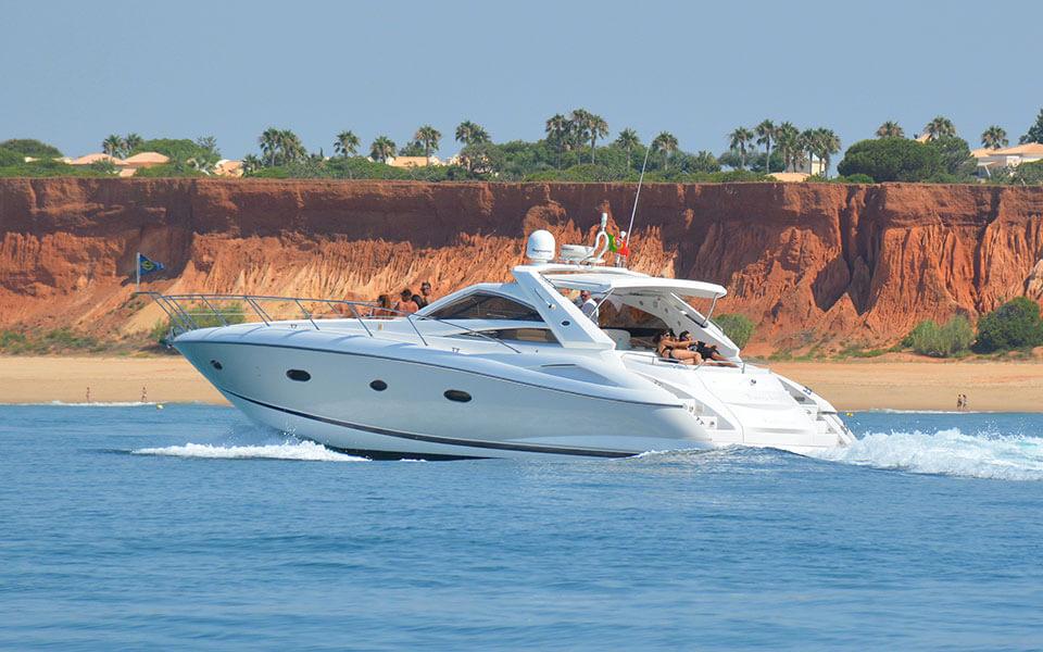 sunseeker boat hire algarve