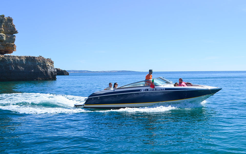 private speed boat hire albufeira